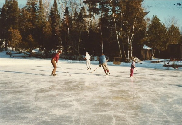 As you can see, my skills at hockey have not improved much.